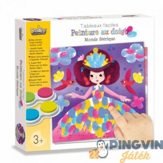 Crealign: Hercegnős ujjfestés