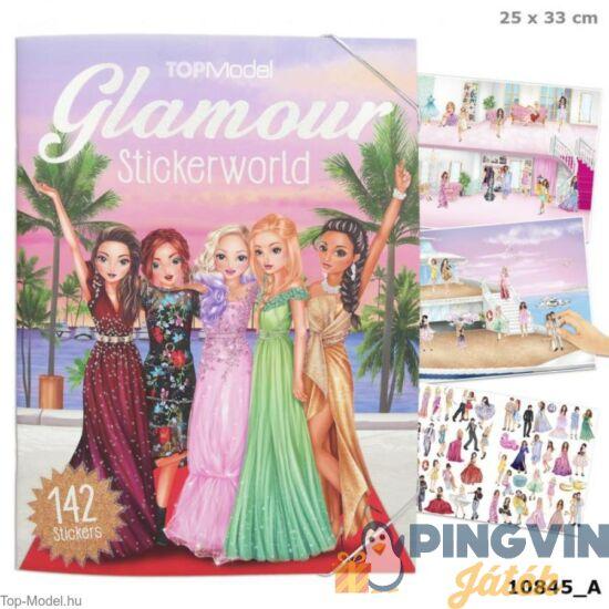 Depesche - TopModel: Glamour estélyi ruha színező füzet (10845)