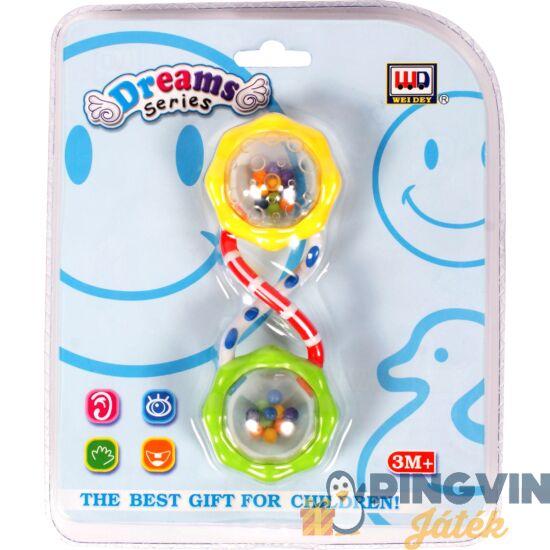 Digo - Spirál műanyag bébicsörgő