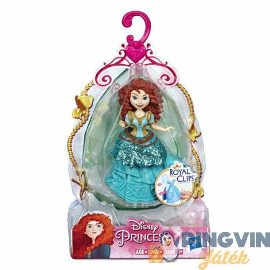 Disney Hercegnők: Merida öltöztethető figura 9cm - Hasbro