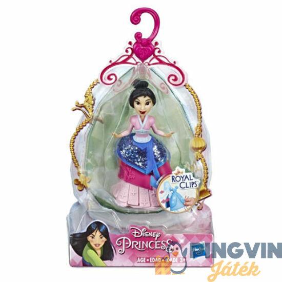 Disney Hercegnők: Mulán öltöztethető figura 9cm - Hasbro