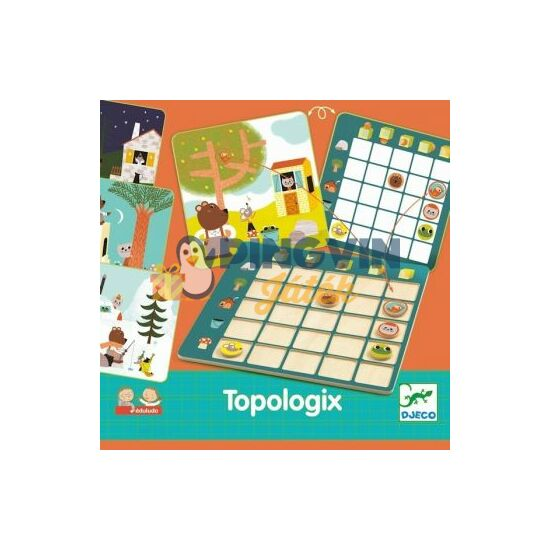 Djeco Topologix Társasjáték 8354