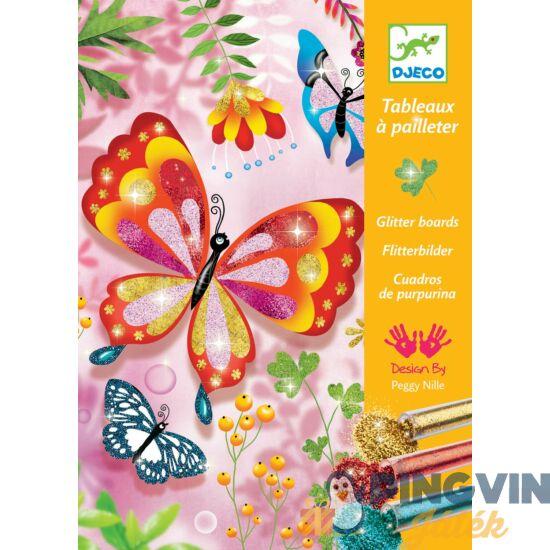 Djeco - Csillámos Képkészítő pillangós 9503
