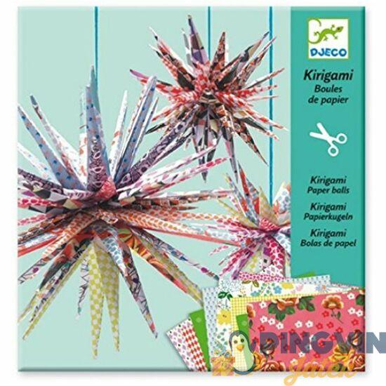 Djeco - Kirigami papírhajtogatós labdák 8765
