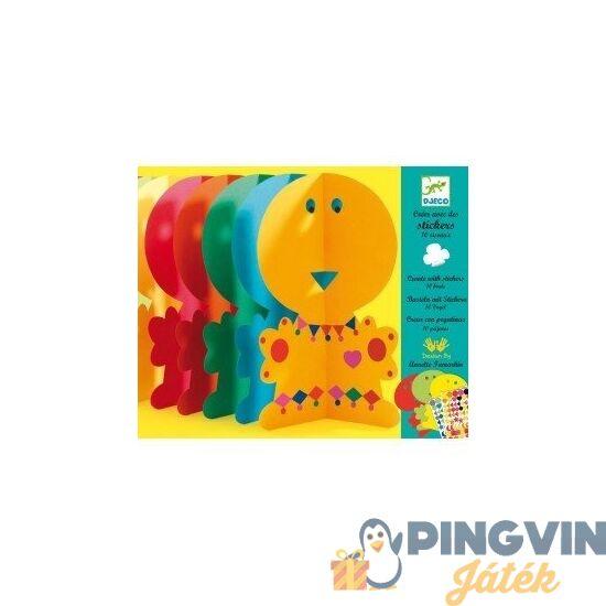 Djeco - Kreatív madaras matricázó (DJ08936)