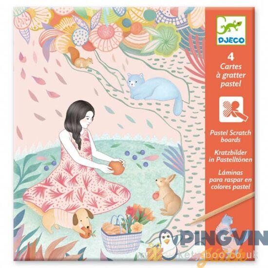 Djeco - The picnic képkarcoló 9738