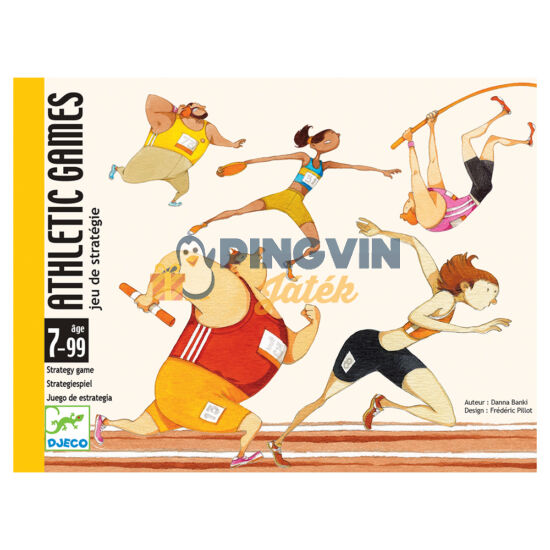 Djeco Atlétikai játékok kártyajáték 5172