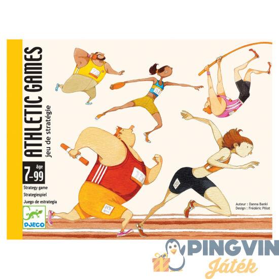 Djeco - Atlétikai játékok kártyajáték (DJ05172)