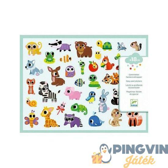 Djeco Bébi állatok matricák 9084