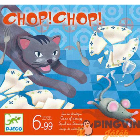 Djeco Macska - Egér játék -Chop Chop társasjáték 8401