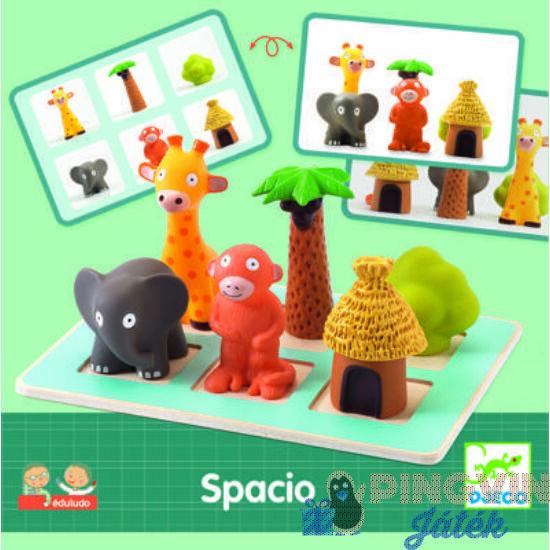 Djeco Spacio Eduludo - Fejlesztő játék 8310