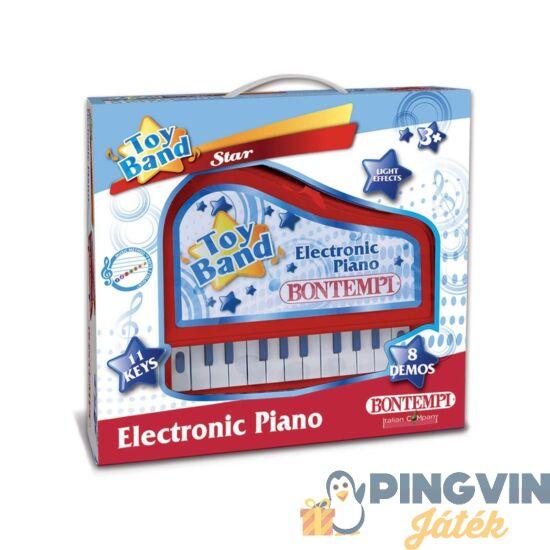 Elektromos zongora 11 billentyűvel