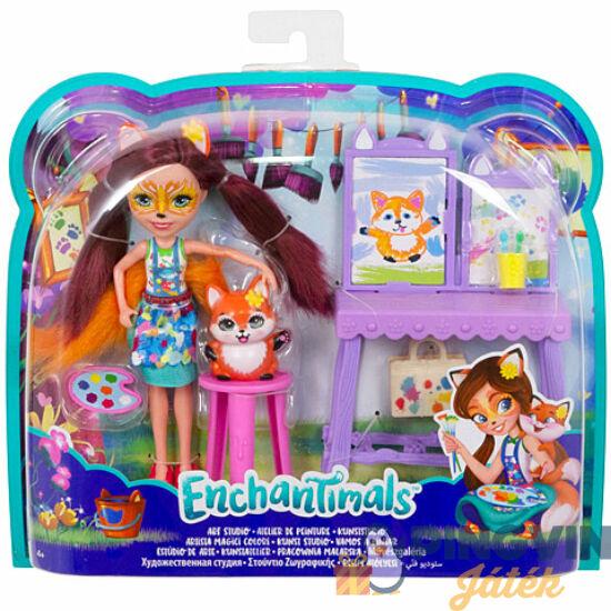 Mattel - Enchantimals Művészgaléria játékszett (FCC62/GBX03)