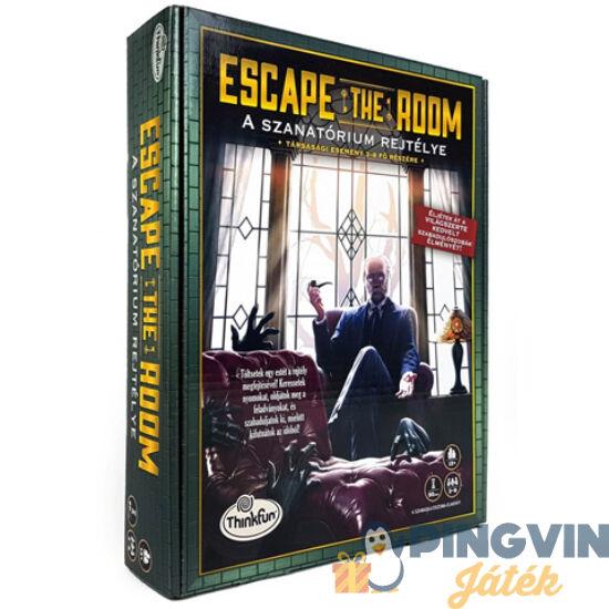 Escape the Room - A szanatórium rejtélye társasjáték - ThinkFun