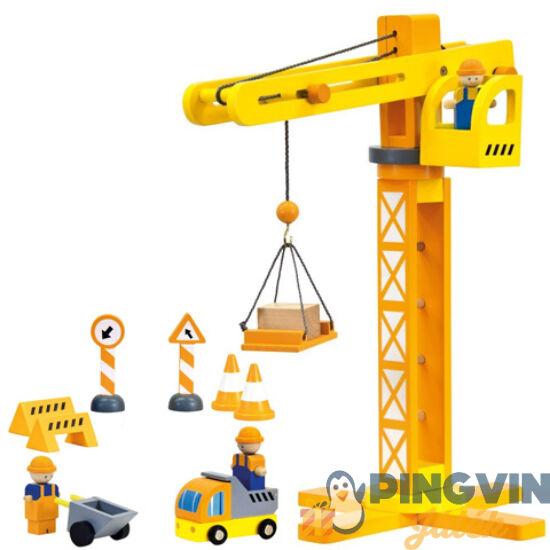 Fa toronydaru kiegészítőkkel - Bino Toys