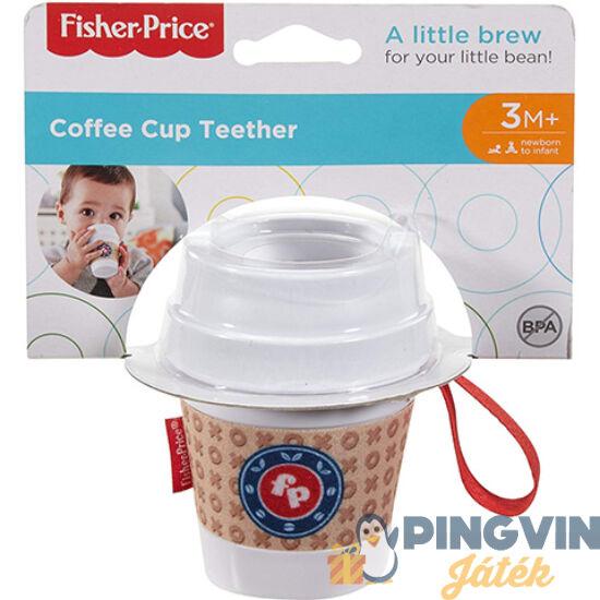 Fisher-Price: Kávéspohár csörgő és rágóka - Mattel