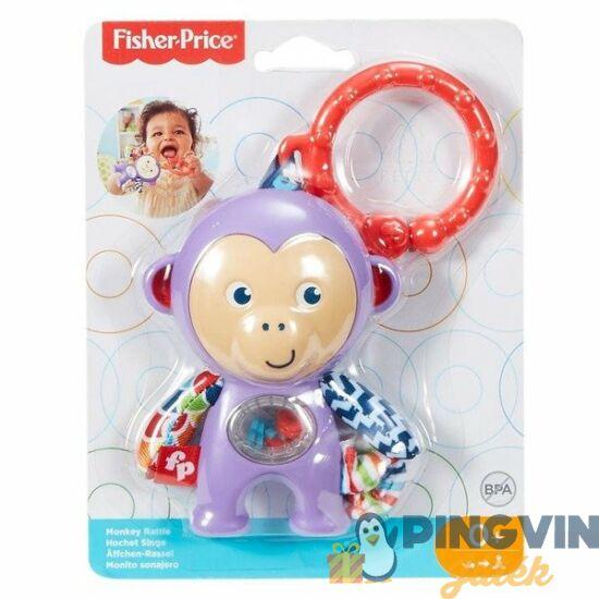 Fisher Price: Majmos csörgő rágóka - Mattel