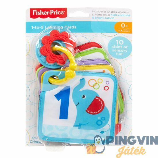 Fisher Price: Számoljunk1-5-ig kártyák - Mattel