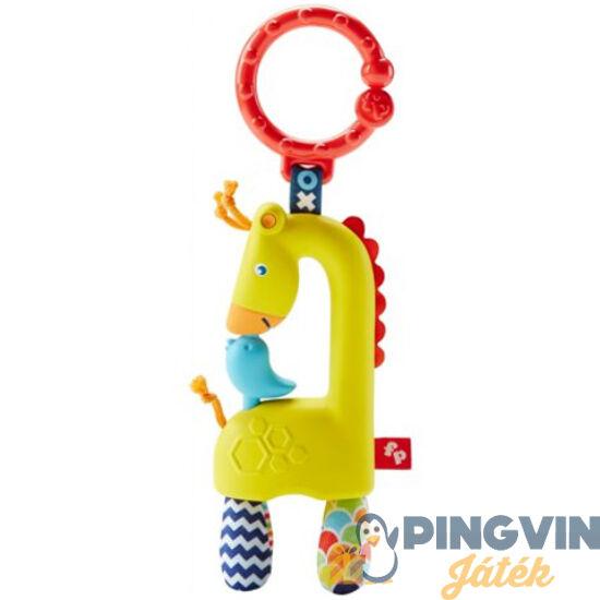 Fisher-Price: Zsiráfos csörgő rágóka - Mattel