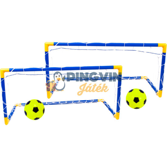 Focikapu  90x60x45cm, labdával, és pumpával
