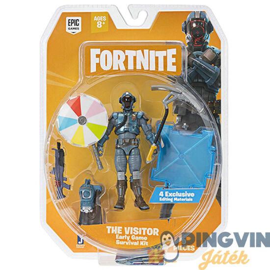 Fortnite: The Visitor akció figura készlet 10cm-es