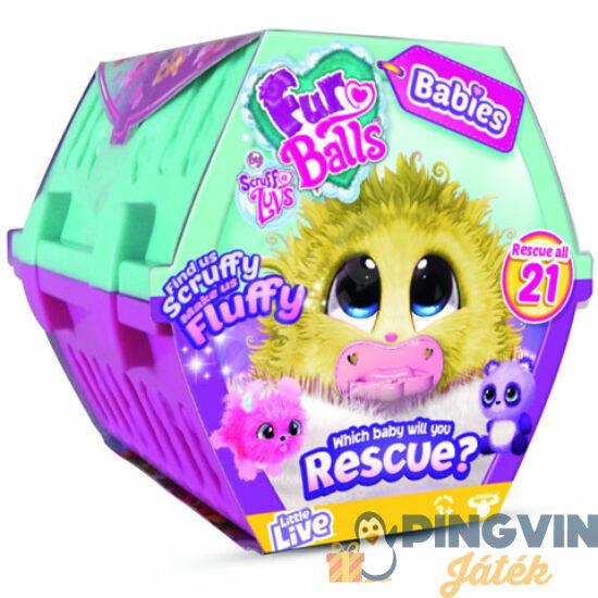 Fur Balls: Mini tekergők meglepetés plüss