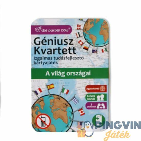 Géniusz Kvartett: Országok és zászlók, ismeretterjesztő kártyajáték