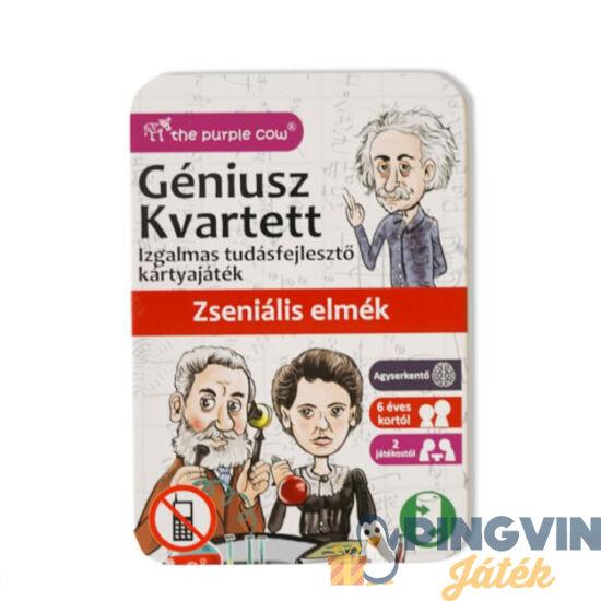 Géniusz Kwartett: Zseniális elmék, ismeretterjesztő kártyajáték