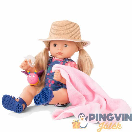 Götz Maxi Aquini Cherry kiss-szőke hajú,kalapos baba 42-46cm-es 2018244