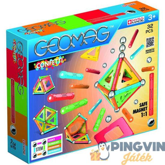 Geomag: Confetti 32db-os készlet