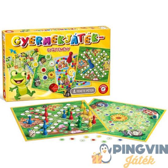 Gyermekjáték gyűjtemény társasjáték - Piatnik