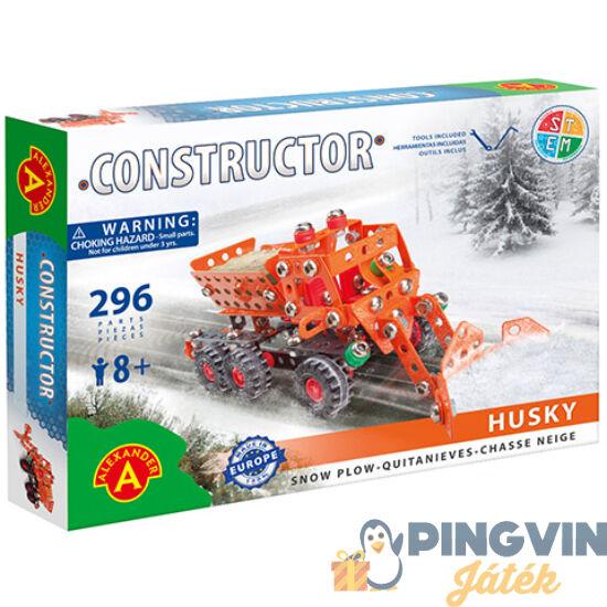 Hókotró fém építőjáték 296db-os - Alexander Toys