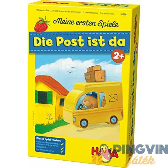 Haba Első társasom-Megjött a posta! társasjáték