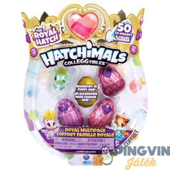 Hatchimals: Royal Hatch meglepetés tojás 4db-os szett - Spin Master