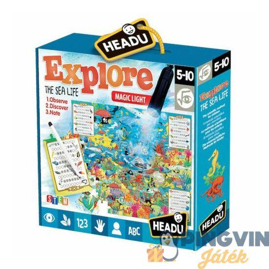 Headu - Megfigyelő puzzle mágikus lámpával: Fedezd fel a tengeralatti világot!