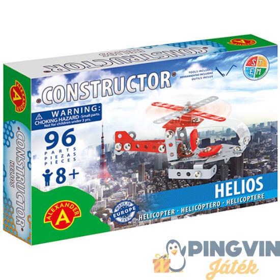 Helikopter fém építőjáték 96db-os - Alexander Toys