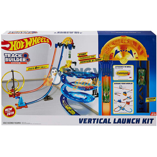 Hot Wheels Track Builder Függőleges szuperpálya készlet - Mattel