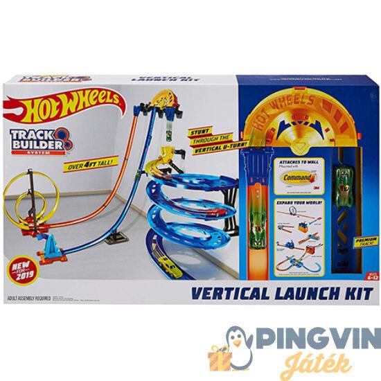 Mattel - Hot Wheels Track Builder Függőleges szuperpálya készlet (GGH70)