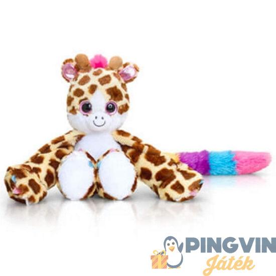 Hugg'ems Lola zsiráf nagyszemű plüss 25cm - Keel Toys
