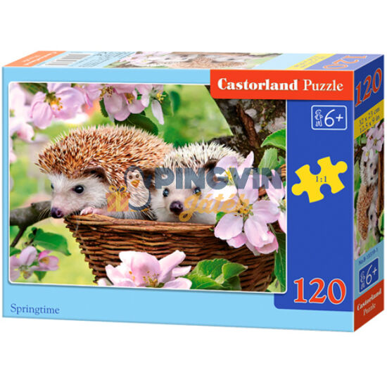 Itt a tavasz 120db-os puzzle - Castorland