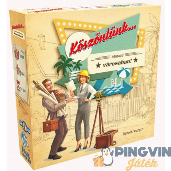 Asmodee - Köszöntünk... álmaid vátosában! stratégiai társasjáték (BCG10001)