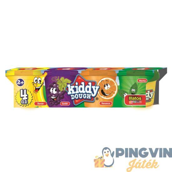 Creative Kids - Kiddy Dough Illatos Gyurma, 4 Db-os