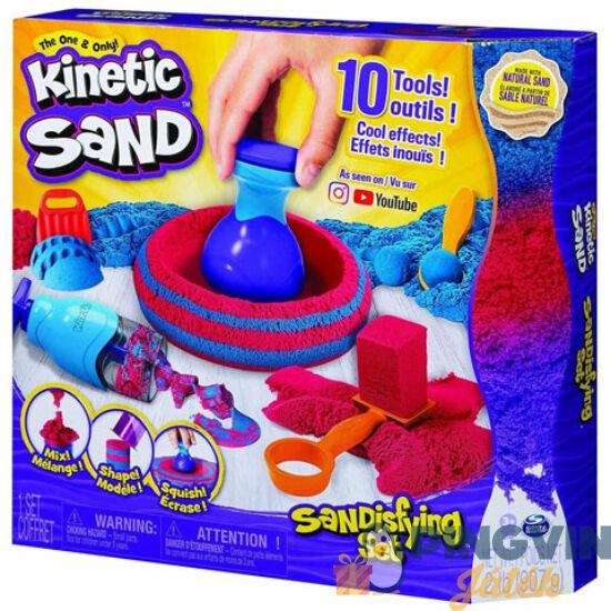 Kinetic Sand - Homokgyurma szett kiegészítőkkel 907g