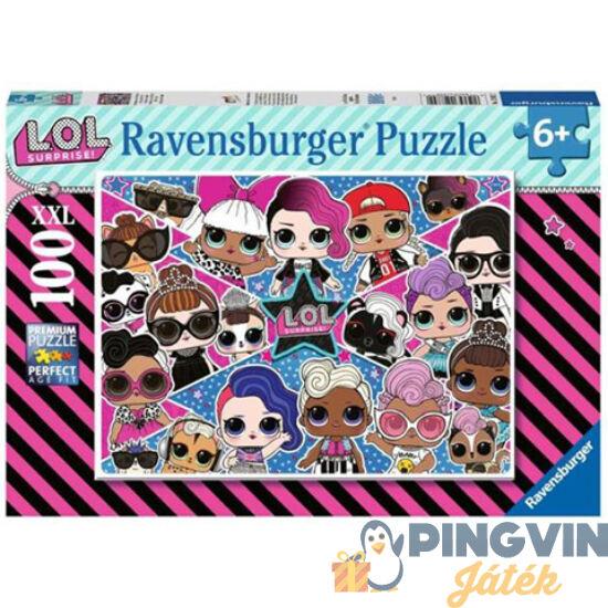 L.O.L. Surprise 100db-os XXL puzzle - Ravensburger