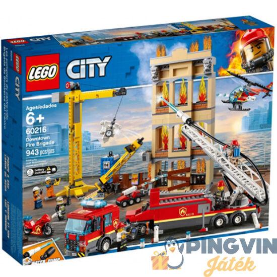 LEGO® City: Belvárosi tűzoltóság (60216)