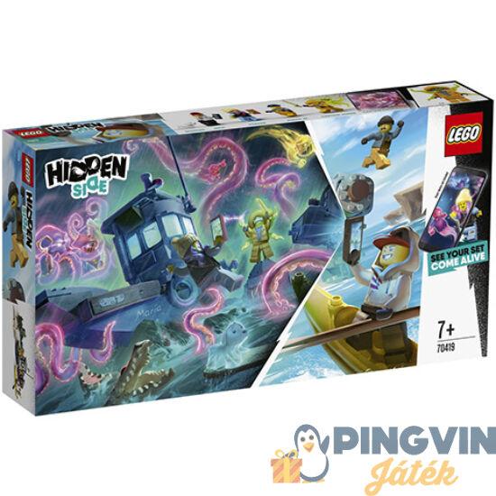 LEGO® Hidden Side™: Megfeneklett rákász hajó 70419