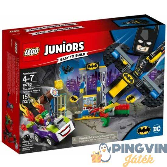 LEGO® Juniors: Joker támadása a Denevérbarlang ellen 10753