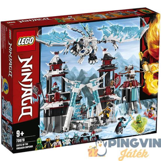 LEGO® Ninjago: A Cserbenhagyott Császár Kastélya (70678)