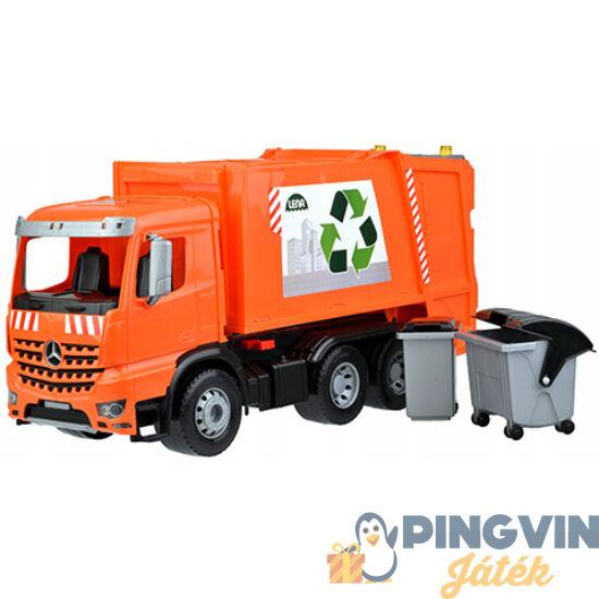 Lena - Mercedes Worxx Arocs szelektív hulladékszállító kukásautó 54cm (04614)