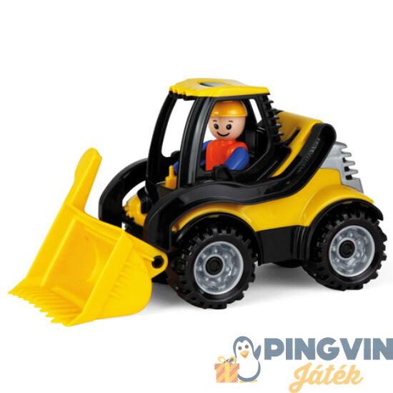 LENA: Truckies földmunkagép figurával 21cm